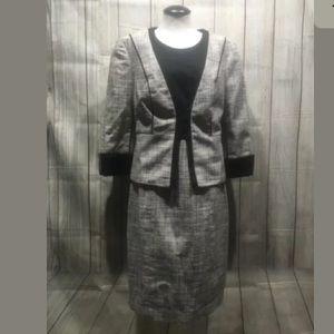 The Limited Career 2 pc Dress sz 8 blazer sz M